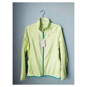 NWT Marmot trail wind jacket citrus ice medium